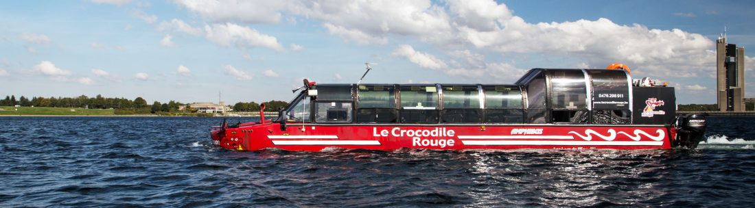 Lac Crocodile Rouge Amphibus